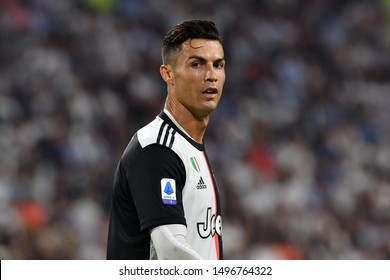 Torino, Italy. 31th August 2019. Italian Serie A. Juventus Fc vs Ssc Napoli. Cristiano Ronaldo of Juventus FC.