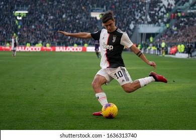 Torino, Italy, February 02 2020 paulo dybala (juventus) during Juventus FC vs ACF Fiorentina italian Serie A soccer match