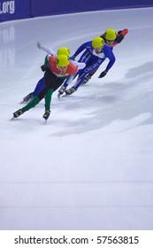 TORINO, ITALY - FEBRUARY 17: 2009 ISU European Short Track Speed Skating Championship at Palatazzoli February 17, 2009 in Torino, Italy
