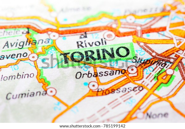 Map Of Italy Torino.Torino Italy Torino Map Stock Photo Edit Now 785199142