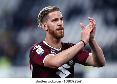 Torino, Italy - May 03, 2019.  Italian Serie A. Juventus Fc vs Torino Fc. Cristian Ansaldi  of Torino FC .