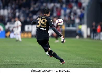 Torino, Italy - May 03, 2019.  Italian Serie A. Juventus Fc vs Torino Fc. Salvatore Sirigu of Torino FC in action.