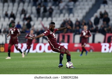 Torino, Italy - May 03, 2019.  Italian Serie A. Juventus Fc vs Torino Fc. Nicolas N'Koulou of Torino FC in action.
