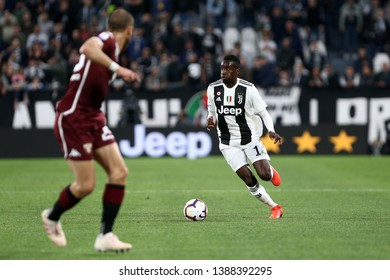 Torino, Italy - May 03, 2019. Italian Serie A. Juventus Fc vs Torino Fc. Blaise Matuidi of Juventus FC in action.