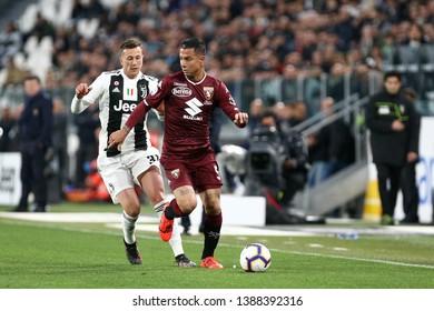 Torino, Italy - May 03, 2019.  Italian Serie A. Juventus Fc vs Torino Fc. Armando Izzo of Torino FC .