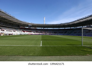 Torino, Italy - May 12, 2019.  Italian Serie A. Torino Fc vs Us Sassuolo Calcio . Grande Torino Stadium.
