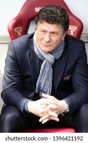 Torino, Italy - May 12, 2019.  Italian Serie A. Torino Fc vs Us Sassuolo Calcio . Walter Mazzarri, head coach of Torino FC.