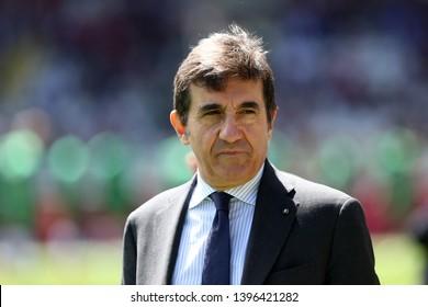 Torino, Italy - May 12, 2019.  Italian Serie A. Torino Fc vs Us Sassuolo Calcio . Urbano Cairo, chairman of Torino FC.
