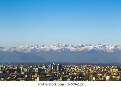 Torino, Turin, Skylin, Europe, Roofs, Medieval, Assasin, Italy, Alpine, Mountains