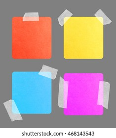 Torn colored paper background with space for your text