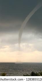 Tornado Approaching Mexican Shoreline