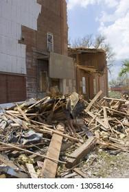 Tornado damage, Windsor Colorado