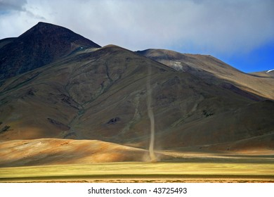 Tornado at More Plains Ladakh India