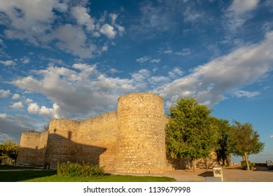 Toro, Zamora, Spain, August 2015: Real Alcazar de Toro is a defensive building of square plant located in the city of Toro, Zamora