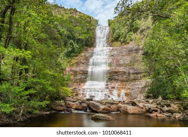 Toron Falls in Canaima National Park, Venezuela