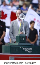 TORONTO: AUGUST 15.Rogers Cup 2010 for Andy Murray who won in the Rogers Cup 2010 finals on August 15, 2010 in Toronto, Canada.