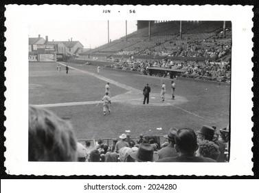 Toronto Baseball 1956