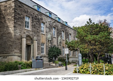 Toronto, Canada - 20 10 2018: Canadiana Gallery building is a home for the Centre for Criminology & Sociolegal Studies of the University of Toronto.
