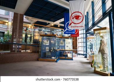 Toronto, Canada - 20 November 2017. Interior Exhibits at the Metropolitan Toronto Police Museum and Discovery Centre