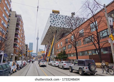 Toronto Canada - 27 March 2015 - Ontario College of Art and Design in McCaul Street in downtown Toronto