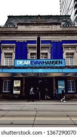 TORONTO, CANADA - APRIL 8, 2019: The Royal Alexandra Theater in Toronto, Canada.