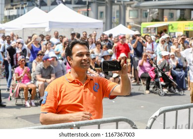 TORONTO, CANADA - AUGUST 4, 2018: TASTE OF MIDDLE EAST FESTIVAL.