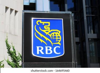 royal bank sign in