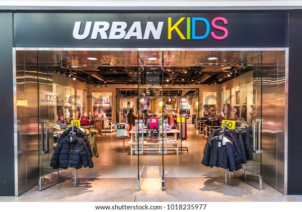 Toronto Canada January 19 2018 Urbankids Stock Photo (Edit