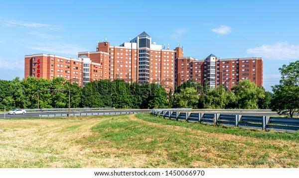 Toronto Canada July 13 2019 Buildings Stock Photo Edit Now 1450066970