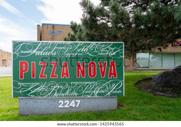 Toronto Canada June 03 2019 Pizza Stock Photo Edit Now