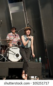 TORONTO, CANADA - JUNE 15: Carly Rae Jepson rehearses for her upcoming performance at the Much Music Video Awards on June 15, 2012 in Toronto, Canada.
