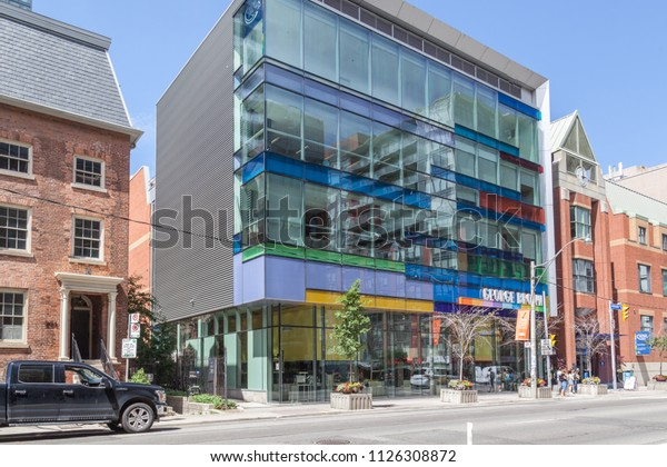 Toronto Canada June 19 2018 George Education Stock Image 1126308872