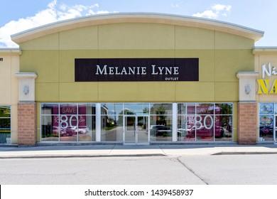 Toronto, Canada - June 22, 2019: Melanie lyne storefront in Toronto. Melanie Lyne is an Canadian fashion brand.