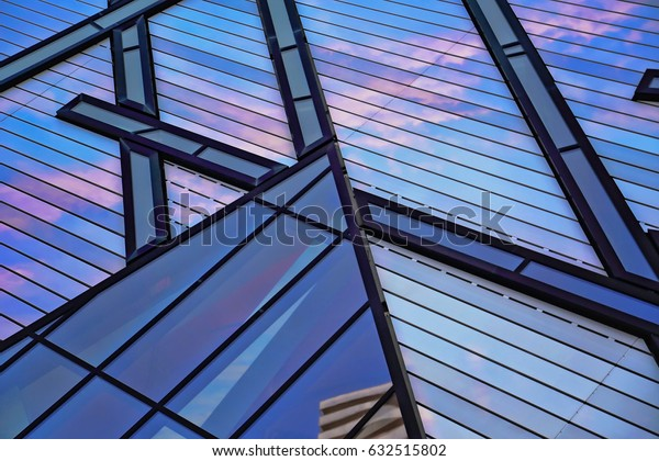 TORONTO, CANADA – JUNE 5: Royal Ontario Museum on an early sunset on 5 of June in Toronto, 2016.