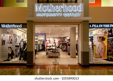 8bf4ab289d575 Toronto, Canada - March 24, 2018: Motherhood Maternity storefront in  Vaughan Mills in