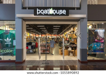 745bcc8d0d03 Toronto Canada March 24 2018 Boathouse Stock Photo (Edit Now ...