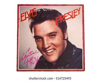 "TORONTO, CANADA, Nov 1, 2016 : Elvis collectors memorabilia from the ""King of Rock and Roll"", he is known as one of the most significant cultural icons of the 20th century."