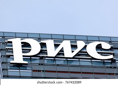 Toronto, Canada - Oct 21, 2017: PWC (pricewaterhousecoopers) main office building in the city of Toronto, Canada