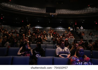 TORONTO, CANADA - OCTOBER 21, 2016: FANS ATTEND THE BUFFER FESTIVAL.