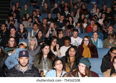 TORONTO, CANADA - OCTOBER 21, 2016: FANS ATTEND BUFFER FESTIVAL SCREENING.