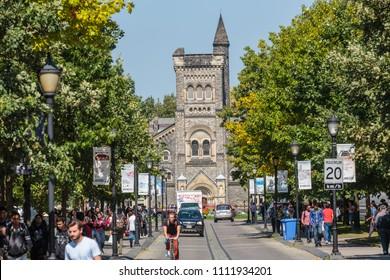 Toronto, Canada, Sep 12, 2017 -  University College, University of Toronto,
