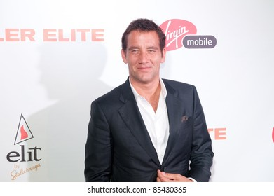 "TORONTO, CANADA – SEPT 10: Clive Owen arrives at the ""Killer Elite"" reception after the movie premiere at the Toronto International Film Festival on September 10, 2011 in Toronto, Ontario."