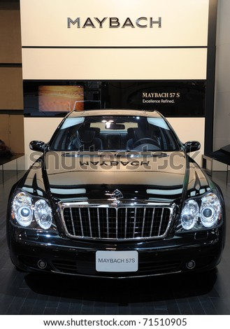 Toronto February 17 Mercedes Benz Maybach Stock Photo Edit Now