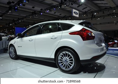 Toronto February  Ford Focus Bev An All New Electric Car At The