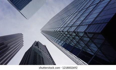 Toronto financial district - Yonge Street