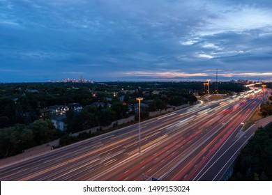 Toronto Highway 401 at Yonge Street