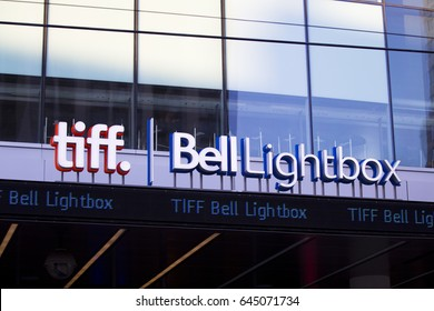 TORONTO - JANUARY 15, 2012: Bell Lightbox tiff building