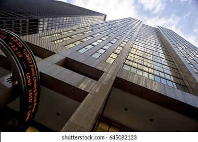 TORONTO - JANUARY 15, 2012: The Toronto Stock Exchange building 121 King Street East in downtown financial
