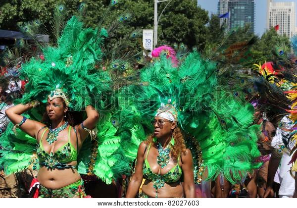 Toronto July 30 Annual Caribana Parade Stock Photo (Edit Now) 82027603