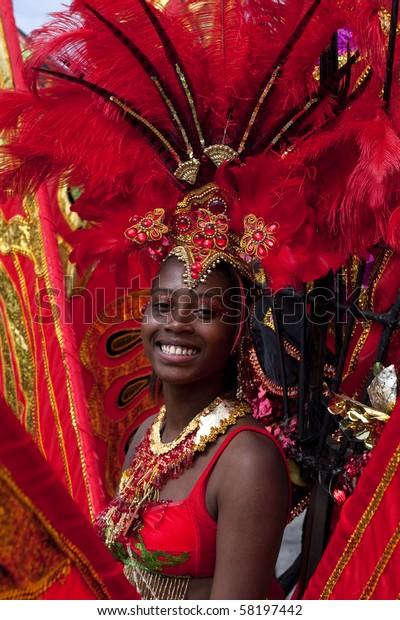 Toronto July 31 Woman Costume Caribana Stock Photo (Edit Now